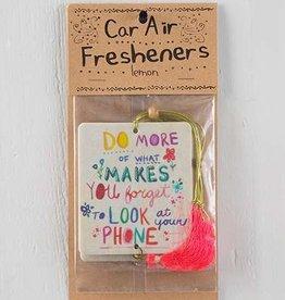 Air Freshener Do More Forget - Lemon