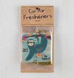 Air Freshener Don't Hurry Sloth (Ocean)