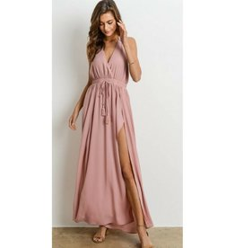 My Heart Is An Open Book Maxi Dress - D. Rose