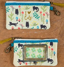 ID Pouch I Love Cats