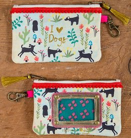 ID Pouch I Love Dogs