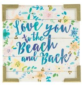 Corner Magnet Love You Beach