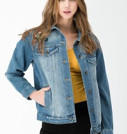 ParAmour Oversized Denim Jacket - MED