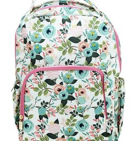 Backpack Peach Floral