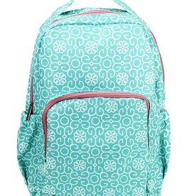 Backpack Mint Damask