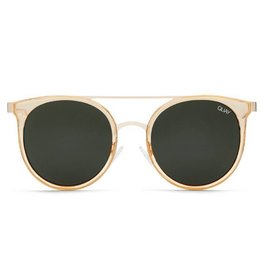 QUAY Kandy Gram Sunglasses - Gold/Green