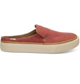TOMS Woman's Sunset Mule Slip-ons-  Spice Heritage Canvas
