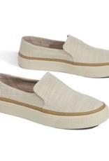 TOMS Women's Sunset Slip-ons- Natural Slubby Cotton