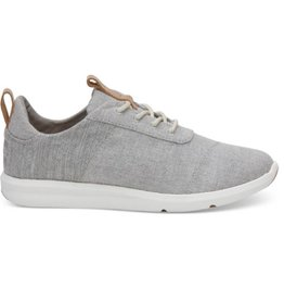 TOMS Women's Cabrillo Sneakers-Drizzle Grey Chambray Mix
