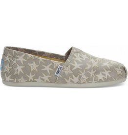 TOMS Classic Slip On - Tan/Gold Starfish