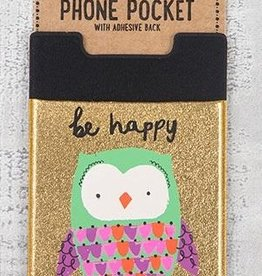 Phone Pocket Owl Be Happy