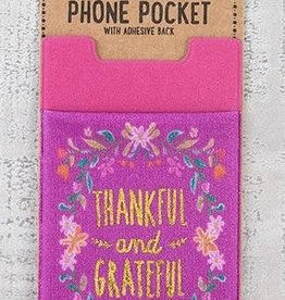 Phone Pocket Thankful & Grateful