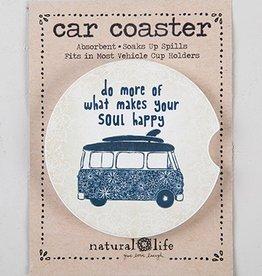 Car Coaster- Do More Happy Van