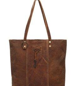 MYRA BAG Ring & Key Leather Bag