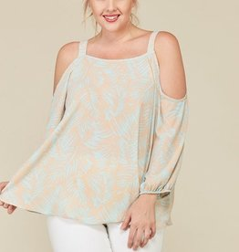 Bring The Chill Top- Mint/Nude
