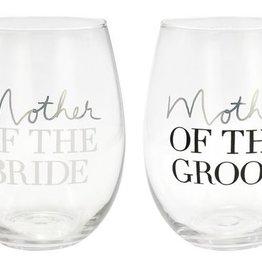 Bride/Groom Wine Glass Set