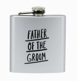 Father Of The Groom Flask