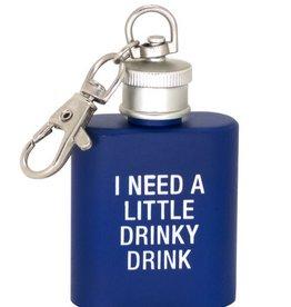 Drinky Drink Key Ring Flask