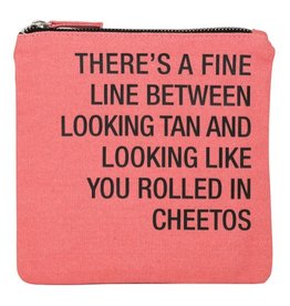 Rolled In Cheetos Cosmetic Bag