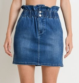 Carry This Year Denim Skirt - Medium Wash