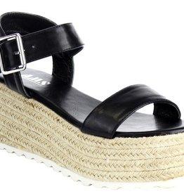Emmalee Platform Sandals - Black