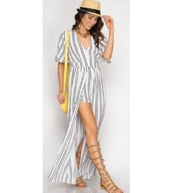 Better Without You Romper- Off White