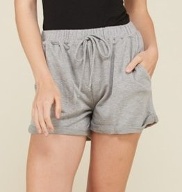 Everyday Sass Shorts - H. Grey
