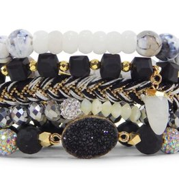 Erimish Stackable Bracelet Set - Star