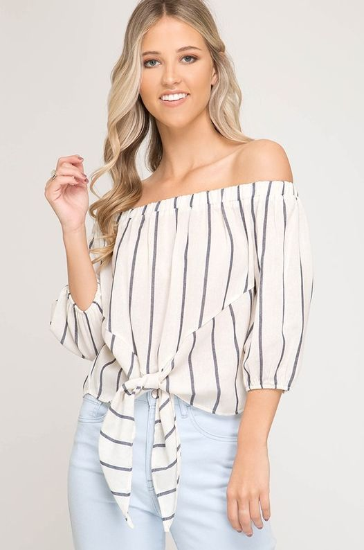 Too Cool For You Top- Cream