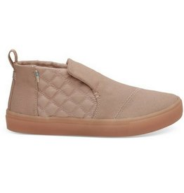 TOMS Women's Paxton Quilted Slip-Ons - Dark Blush