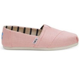 TOMS Classics Heritage Canvas- Powder Pink