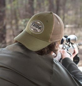 FF-Tactical Logo- MESH HAT-Millitary Green-OS