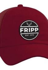 FF-Antler Logo- MESH HAT-Maroon-OS