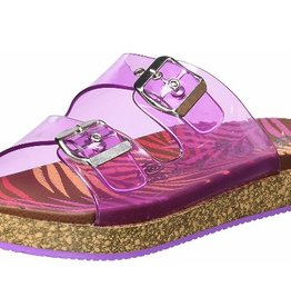 NAUGHTY MONKEY Clear Mind Sandal- Pink