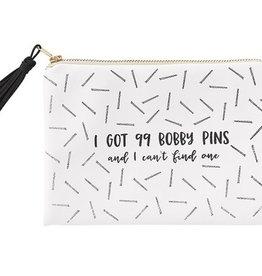 99 Bobby Pins Cosmetic Bag