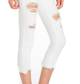 Forever Yours Skinny Jean- White