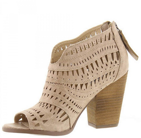 Groove Thang Bootie- Cream