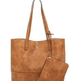 The Monica Tote- Camel