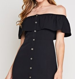In Your Dreams Dress- Black