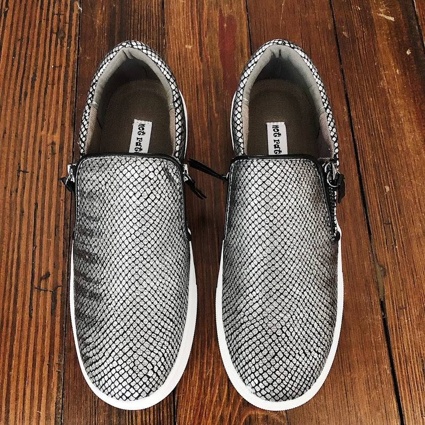 NOT RATED Tim Sneaker - Pewter