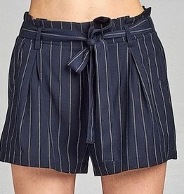 Promise The Moon Shorts- Navy
