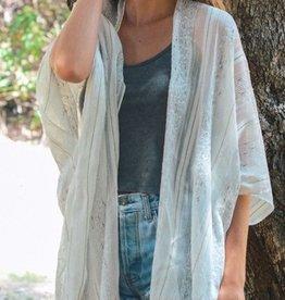 Oh So Heavenly Kimono-Ivory