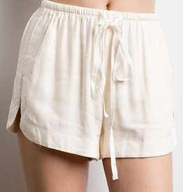 Happy Daze Shorts- Ivory