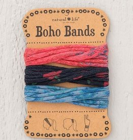 Boho Bands Red Blue Black