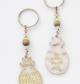 Pineapple Token Keychain