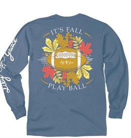 LG-Fall Play Ball-Longsleeve- Marine