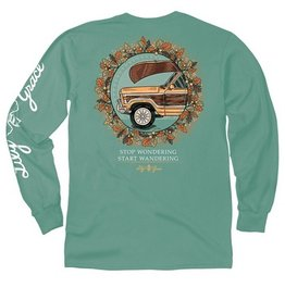 LG-Fall Station Wagon-Longsleeve- Light Green