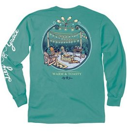 LG-Warm and Toasty-Longsleeve- Seafoam