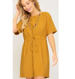 The Other Woman Dress- Mustard