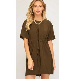 The Other Woman Dress- Olive